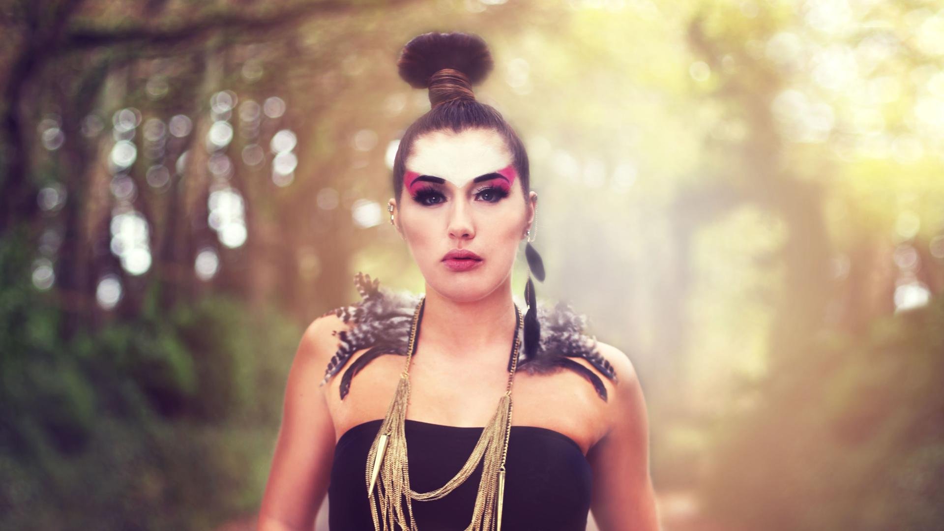 Tribal Photo Shoot - Fierce